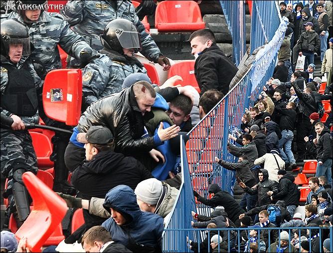 Полиция обещает не допустить побоища на футбольном матче в Черкизове