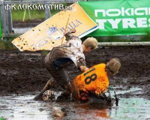 Сборная России выиграла чемпионат мира по футболу на болоте