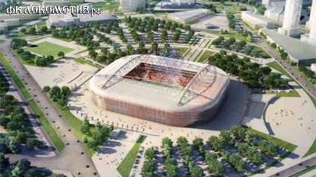 Наши стадионы ЧМ-2018 в 3D