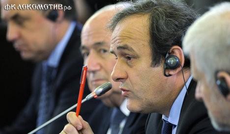 """Платини: результаты """"финансового fair play"""" будут получены в 2013 году"""