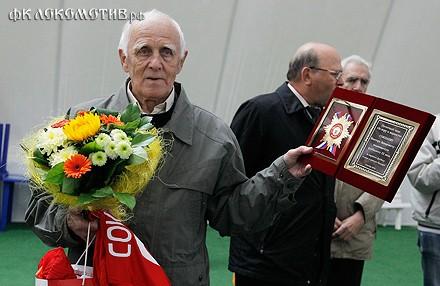В Черкизове состоялось чествование Виктора Соколова