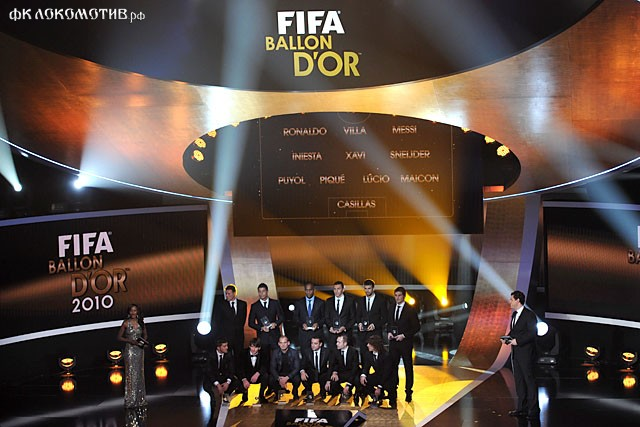 В список претендентов на «Золотой мяч» вошли пять игроков «Барселоны» и шесть – «Реала»
