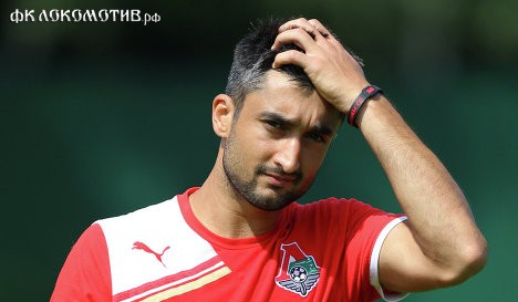 Александр Самедов дисквалифицирован на 2 матча Кубка России.