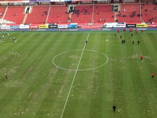 «Локомотив» и «Анжи» делят стадион в Черкизове