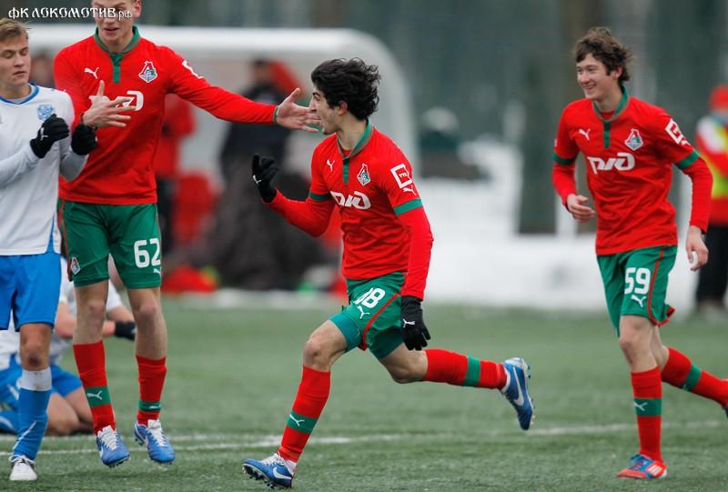 «Локомотив» - «Волга» 2:2. Молодежные составы