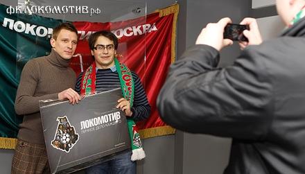 Тигорев побывал в клубном музее