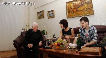 В гостях у Савелия Мышалова