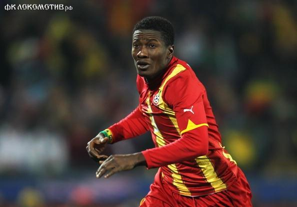 Гьян - лидер сборной Ганы