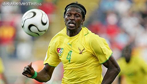 Адебайор - лидер сборной Того