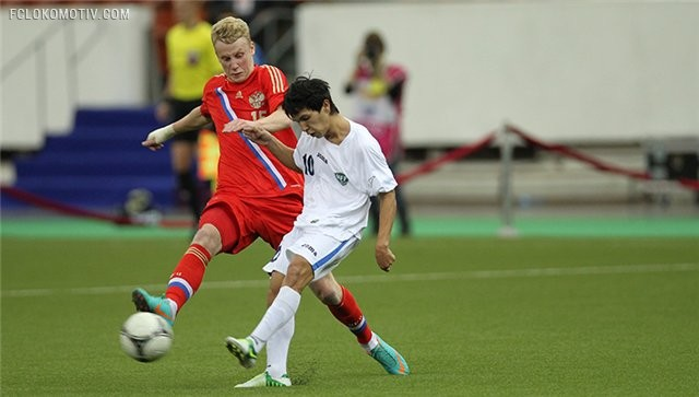 Молодежная сборная России сыграла вничью с Киргизией