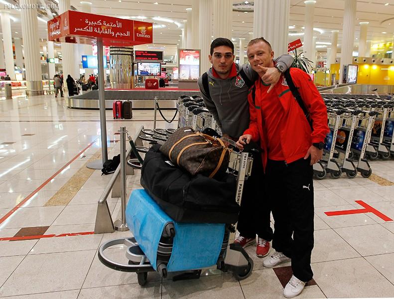 Прилет в Эмираты