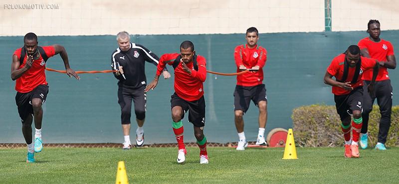 Дубай. Первая тренировка
