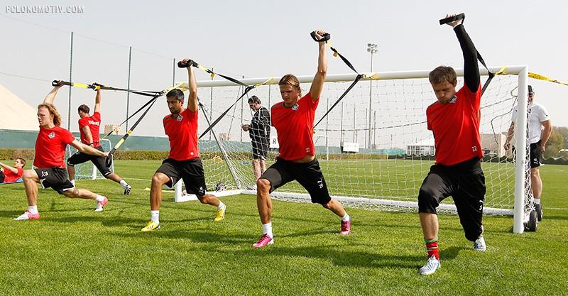 Тренировка под палящим солнцем Эмиратов