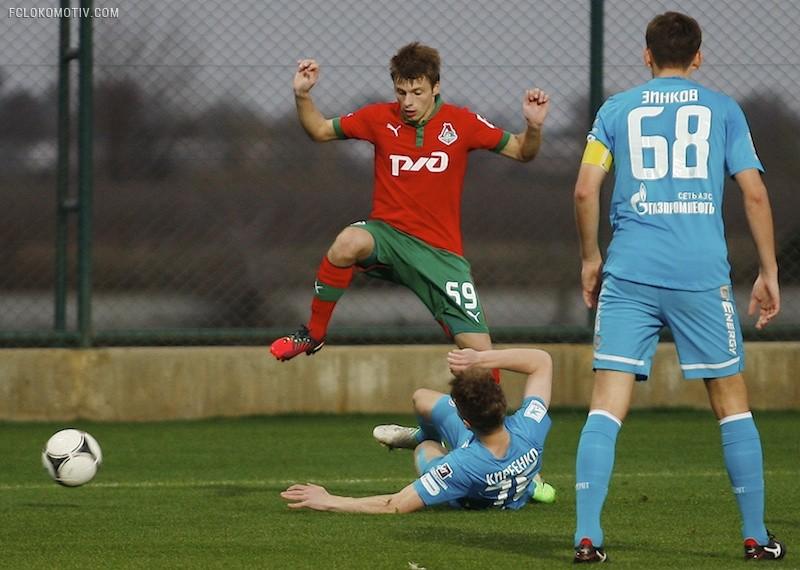 «Локомотив» - «Зенит» 3:3
