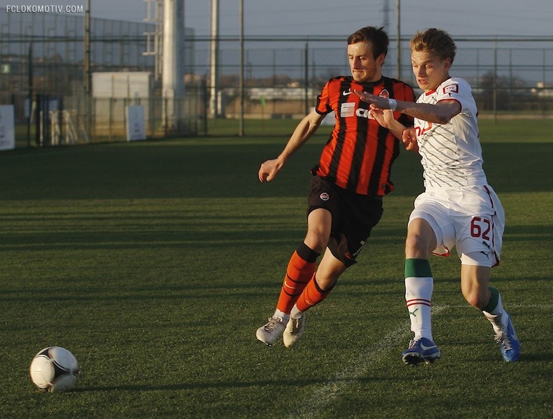«Локомотив» - «Шахтер» 2:1
