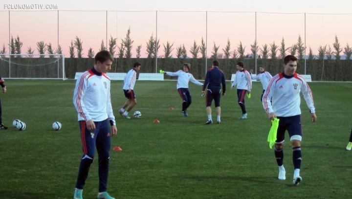 Начали подготовку к матчу с Норвегией и к ЕВРО-2013