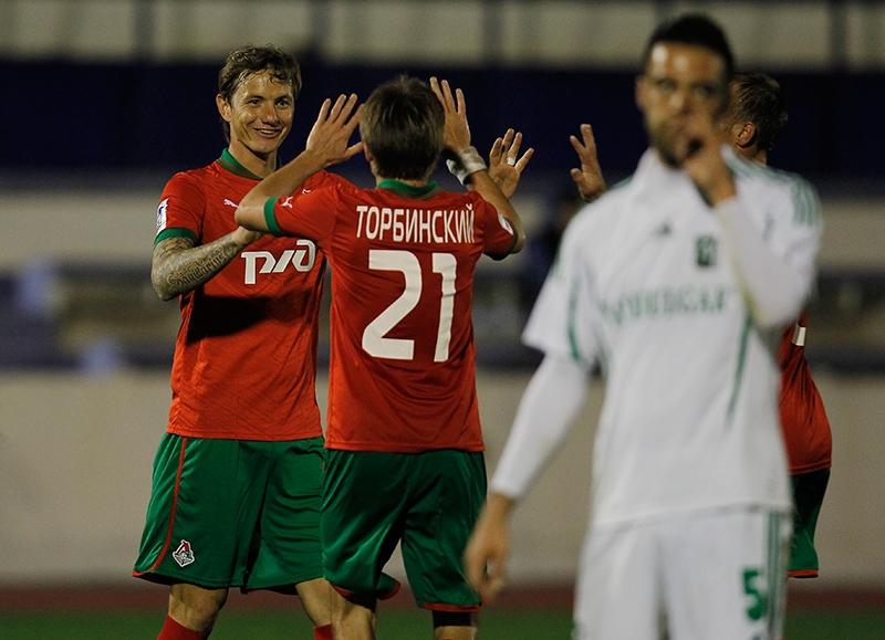«Локомотив» - «Лудогорец» 3:1