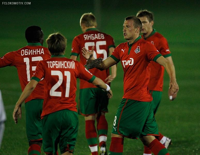 «Локомотив» - «Стремсгодсет» 3:0