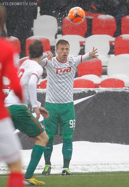 «Спартак» - «Локомотив» 5:1
