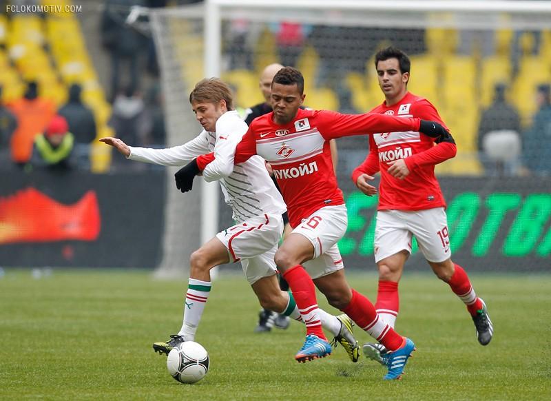 «Спартак» - «Локомотив» 0:0