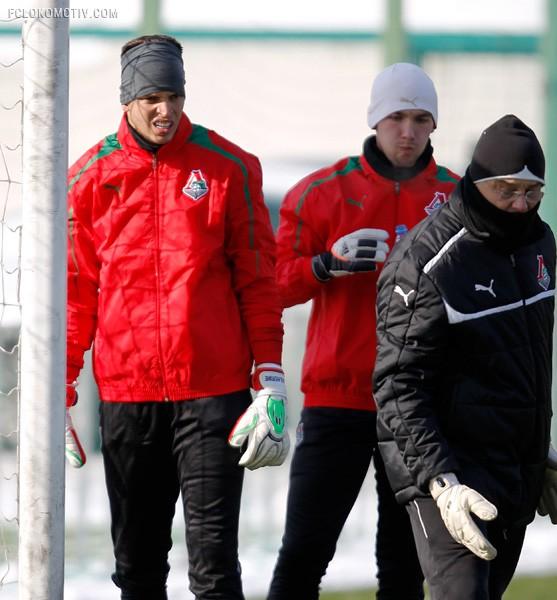 «Локо» тренируется в Черкизове