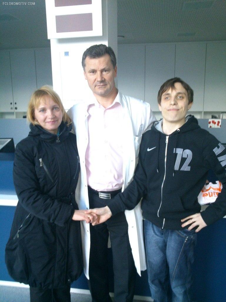 «Локомотив» помог своему болельщику