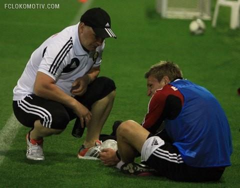 Ян Тигорев получил повреждение на тренировке сборной Беларуси
