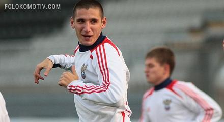 Бурлак вызван в молодежную сборную России