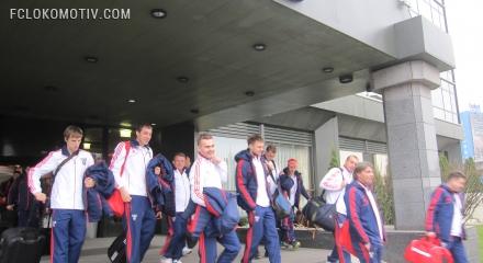 Сборная России отправляется в Лондон