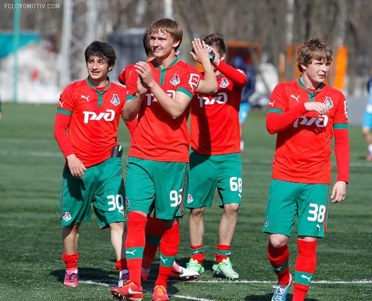 «Локомотив» - «Зенит» 4:2. Молодежные составы