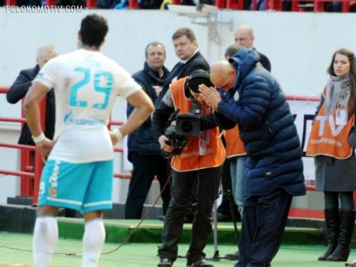 Без мата… Футболисты «Зенита» и «Локо» порадовали примерным поведением и почти литературной лексикой