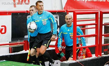 Владислав Безбородов назначен на матч «Кубань» - «Локомотив»