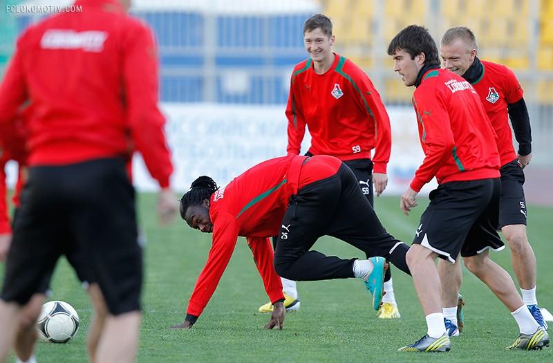 Тренировка на Кубани