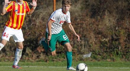 Игроки «молодежки» сыграли с Бельгией