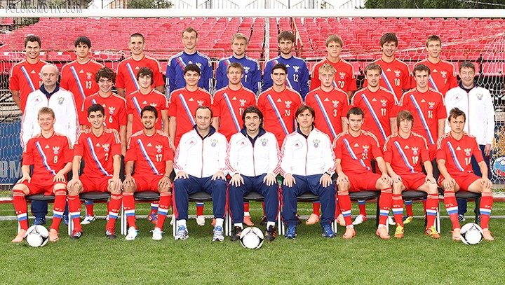 Расширенный список молодежной сборной России