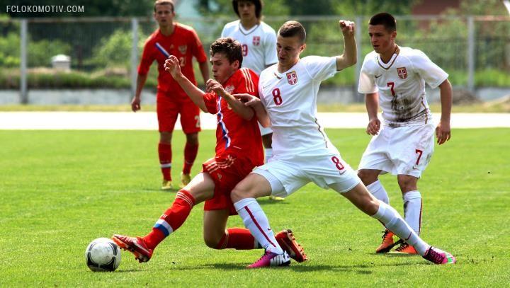 Россияне сыграли вничью с Сербией