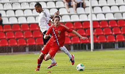 Четверо «железнодорожников» сыграли второй матч с Германией