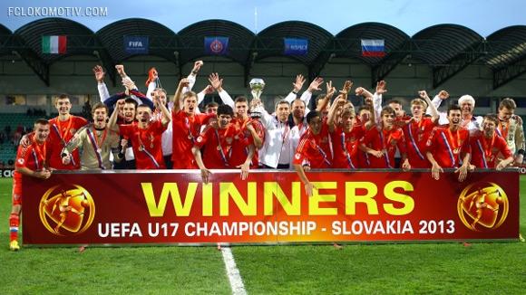 Россия - чемпион Европы!