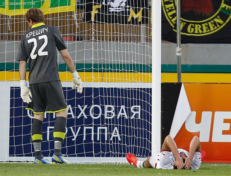 «Анжи» - «Локомотив» 2:1