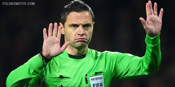 Матч России против Португалии будет судить словенец Скомина