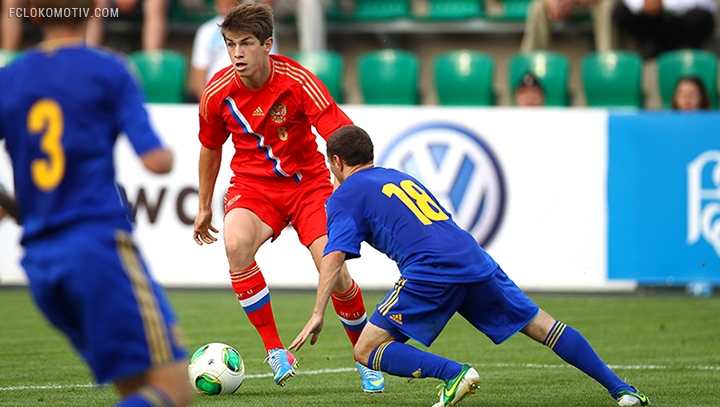 Юношеская сборная России U-19 потеряла шансы на выход в финальную стадию ЧЕ-2013