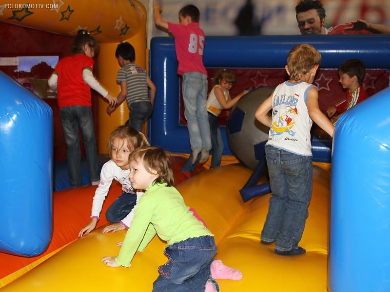 Семейный сектор на игре с «Мордовией»