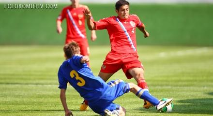 Юношеская сборная России разгромила сверстников из Украины на Евро-2013