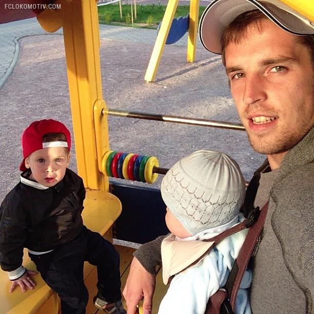 Отцы и дети. Футболисты премьер-лиги со своими детьми