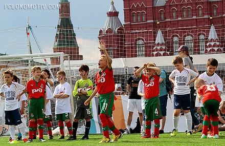 «Локобол-2013-РЖД» открылся на Красной площади
