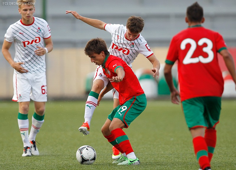 «Локомотив» - «Локомотив-2» 3:4