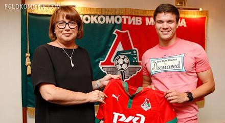 «Локомотив» подписал контракт с Сергеем Ткачевым