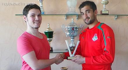 Александра Самедова наградили призом игрока месяца