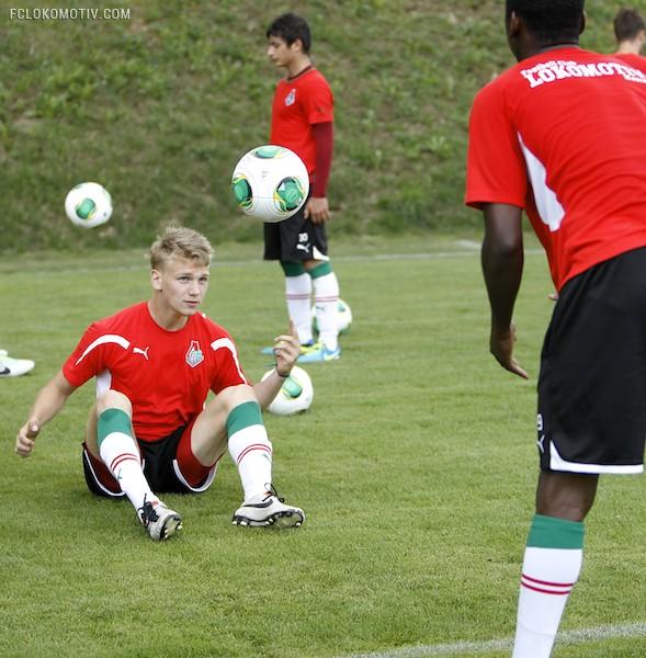 Сбор в Словении. Тренировка молодежного состава