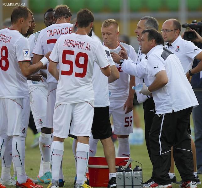«Анжи» - «Локомотив» 2:2